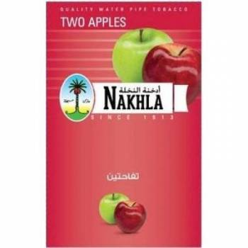 Купить Табак Nakhla New - Two Apples 50г