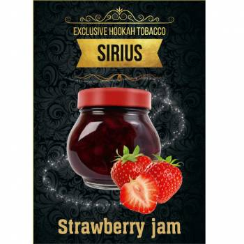Купить Табак Sirius - Strawberry Jum 100 г
