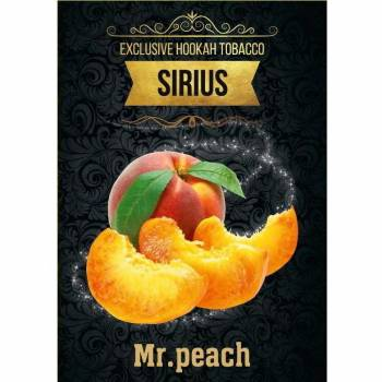 Купить Табак Sirius - Mr. Peach 250 г